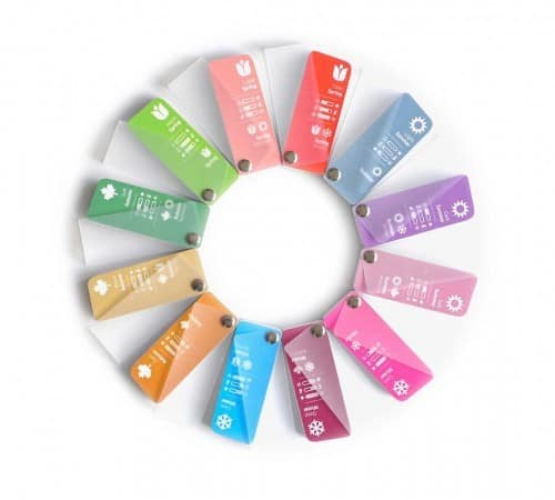 Color Swatch Fans